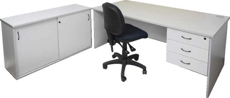 function silver grey office package example four fast