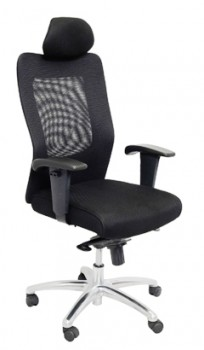 Georgia High Back Chair - Black Back