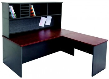 Stackable Desk Hutch – Double Height