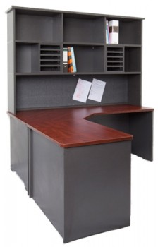 Stackable Desk Hutch – Triple Height
