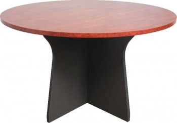 Executive Round Meeting Table - Birch Colour