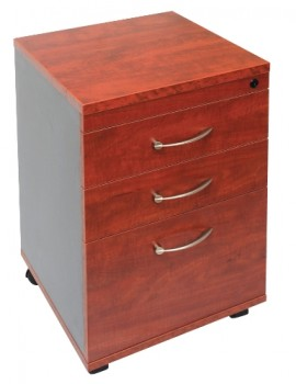Executive Mobile Pedestal - Birch Colour