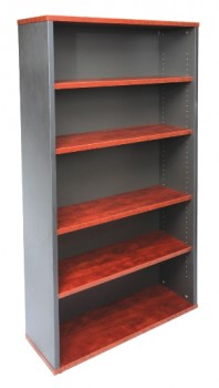 Executive Bookcase - Birch Colour