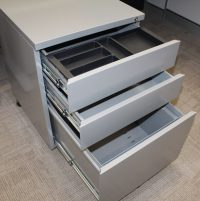 Super Strong Metal Mobile Drawer Unit - Top Drawer Pen Tray