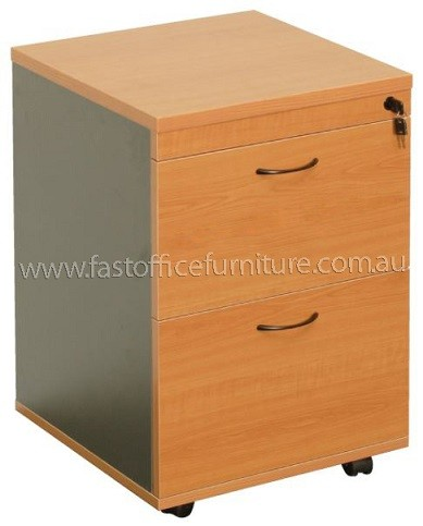 2 File Drawer Pedestal