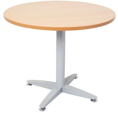 Space System Round Meeting Table Beech Top