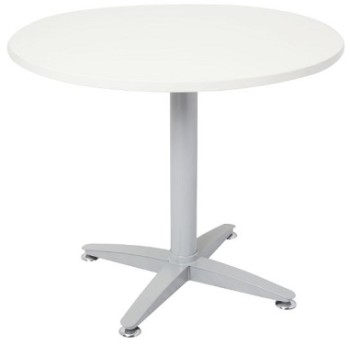 White round meeting table
