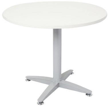 Space system round table fast office furniture for Off white round table