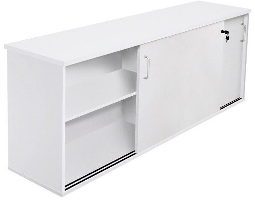 Office Credenza With Doors : Space system sliding door credenza fast office furniture