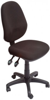 Stradbroke High Back Task Chair – Black fabric