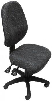 Stradbroke High Back Task Chair – Charcoal fabric