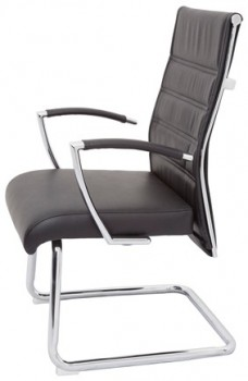 Vanessa Medium Back Cantilever Chair