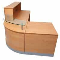 Curve Reception Desk, Image 2