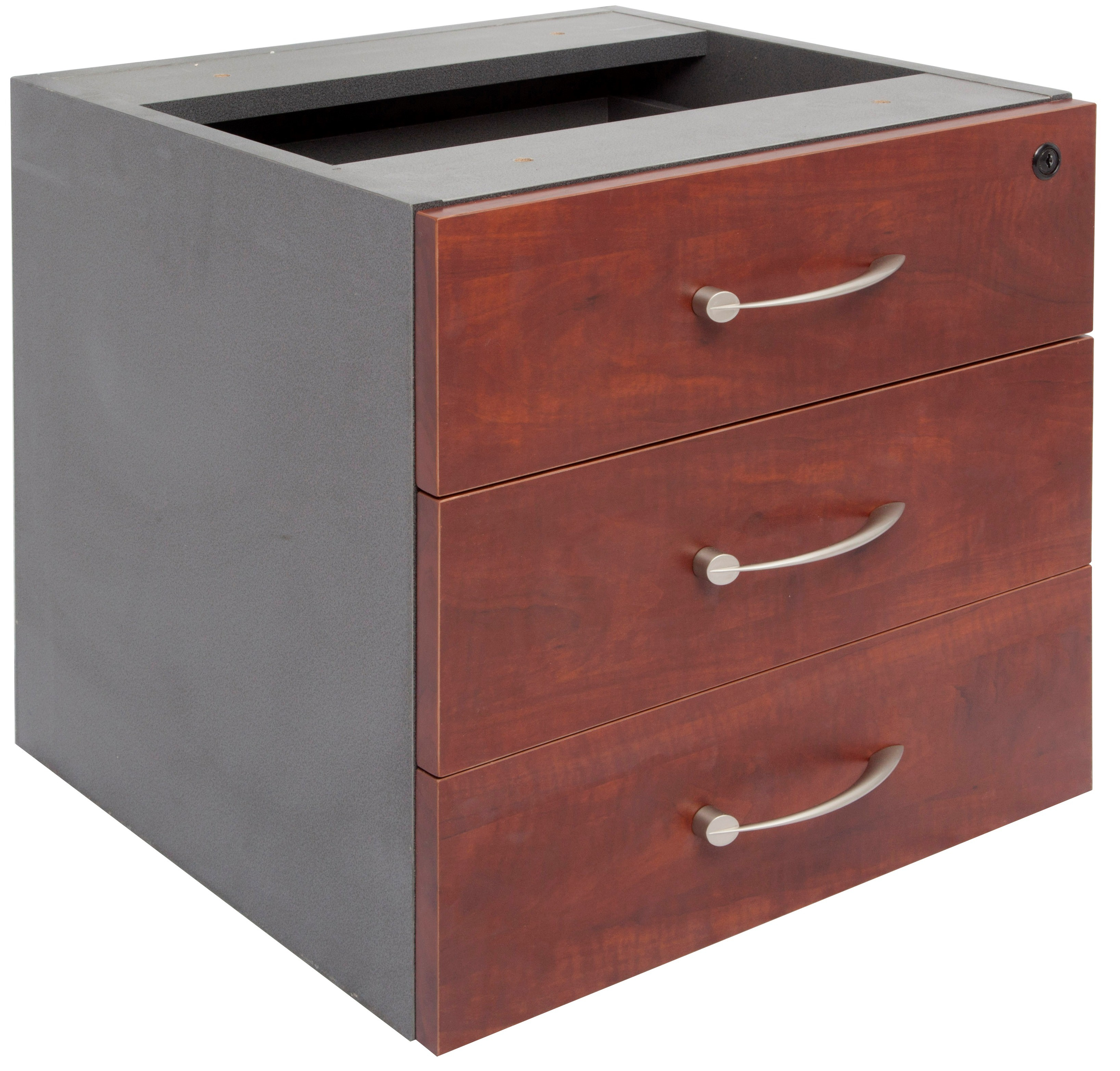 office furniture executive fixed drawer unit 3 personal drawers
