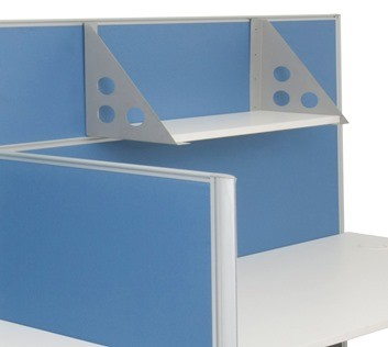 Screen Hung Shelf Fast Office Furniture