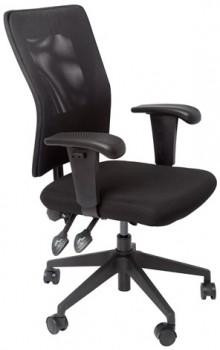 Caprice Chair - Black Mesh Back
