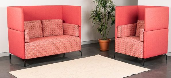 Pink Coloured Office Furniture
