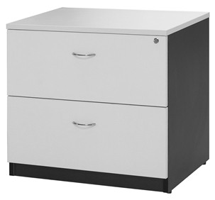 White Lateral File Drawers