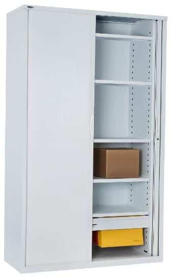 Super Strong Metal Tambour Door Storage Cabinet Fast