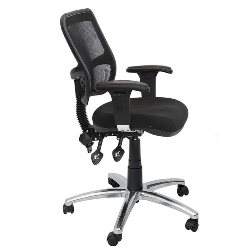 Stradbroke premier promesh high back clerical chair fast office furniture