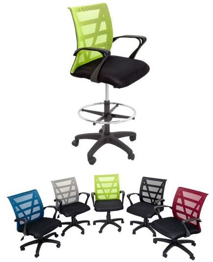 levi drafting chair options fast office furniture