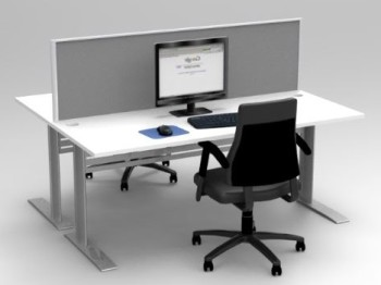EXPRESS SPACE SYSTEM 2 WAY DESK CLUSTER