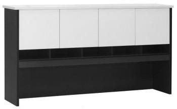 White Desk Hutch