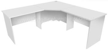 Grey Corner Desk
