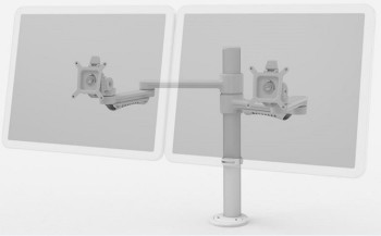 CME Dual Monitor Arm