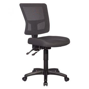 Lily Chair Black Mesh Back