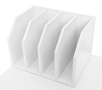 Stationary Organiser White Horizontal