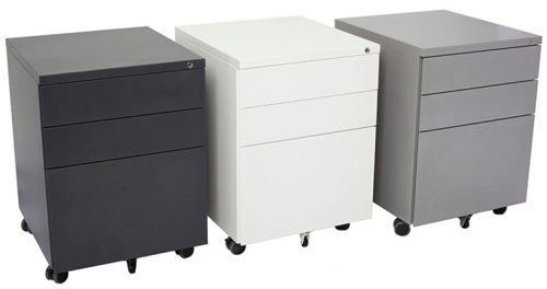 Super Strong Metal Mobile Drawer Units