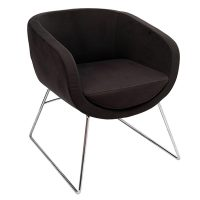Chelsey Chair, Charcoal