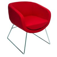 Chelsey Chair, Red