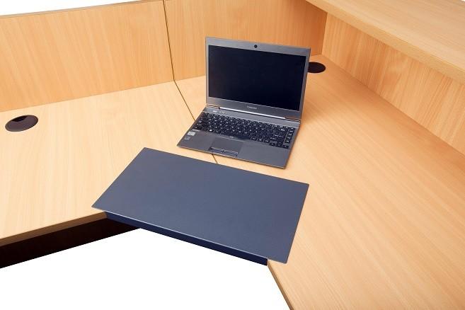 Slide On Keyboard Tray Lozenge Fast Office Furniture
