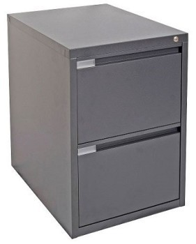 Tuff Built 2 Drawer Filing Cabinet Graphite Ripple