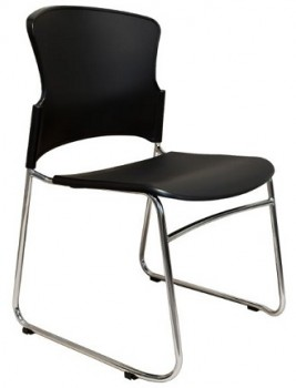 black event chair