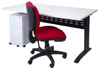 Space System Desk, Drawer Unit and Carina Chair Package