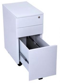 narrow drawer pedestal