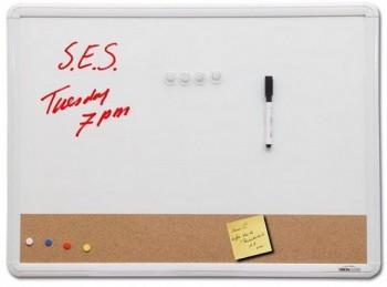 White Board Pin Board Horizontal Combo