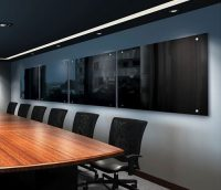Magnetic Black Glass Boards - Example