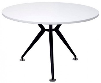 black and white office table