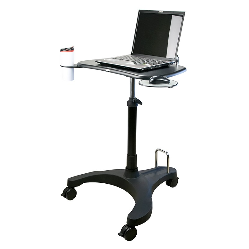 SOLO ASCEND DELUXE PERSONAL SIT STAND DESK Fast Office Furniture