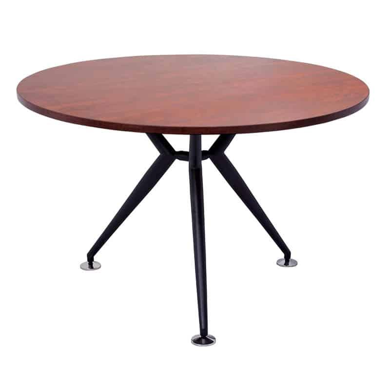 cherry 1000d round office table balt 900 iflex small half