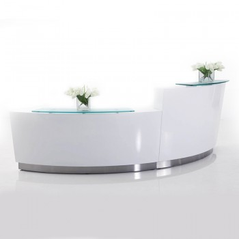 Brilliance Double Module Reception Desk