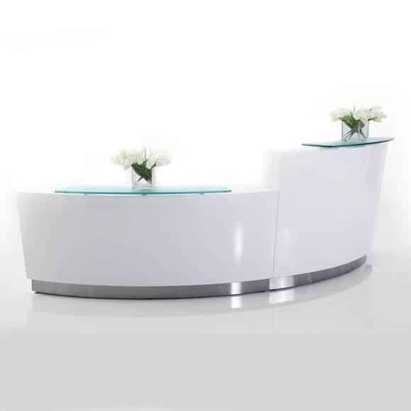 Curve Reception Desk Fast Office Furniture