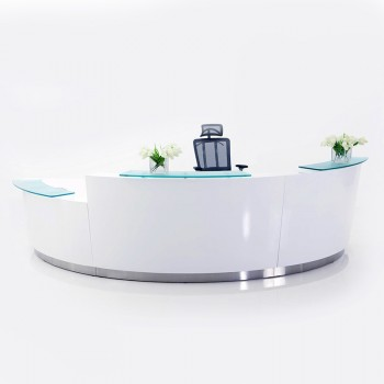 Brilliance Triple Module Reception Desk
