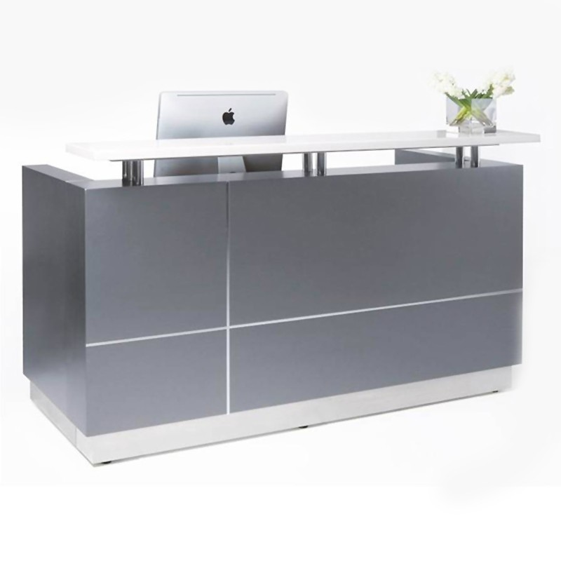 outline reception desk fast office furniture. Black Bedroom Furniture Sets. Home Design Ideas