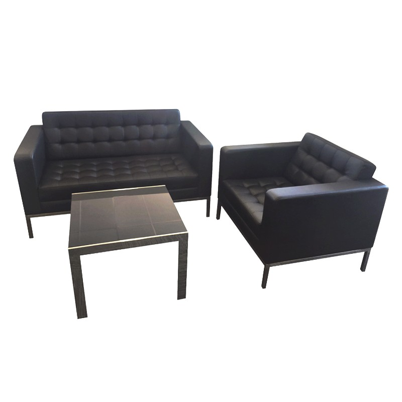 Nicole chair nicole 2 seater and sachi coffee table for Chairs and coffee table
