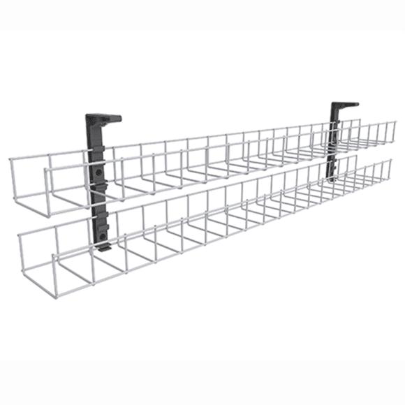 single tier under desk cable basket  u2013 fast office furniture
